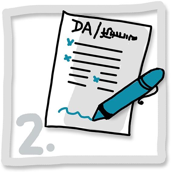 2 Formular downloaden ausfuellen unterscheiben