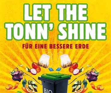 AMARETIS GMBH KAMPAGNE Goettinger Bioabfall Bewegung exemplarische Motive Plakat Let the Tonn shine DIN A4 FINAL