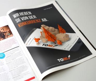 TONI Design Anzeige 1