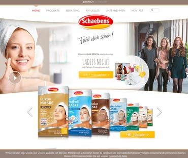 necom Website Relaunch Schaebens