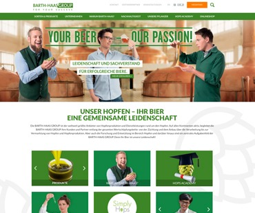 relaunch website