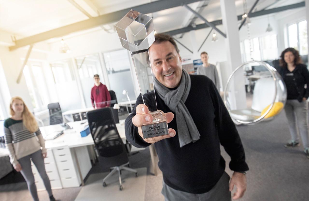 REIZPUNKT Gewinner Agentur des DA/ 2020