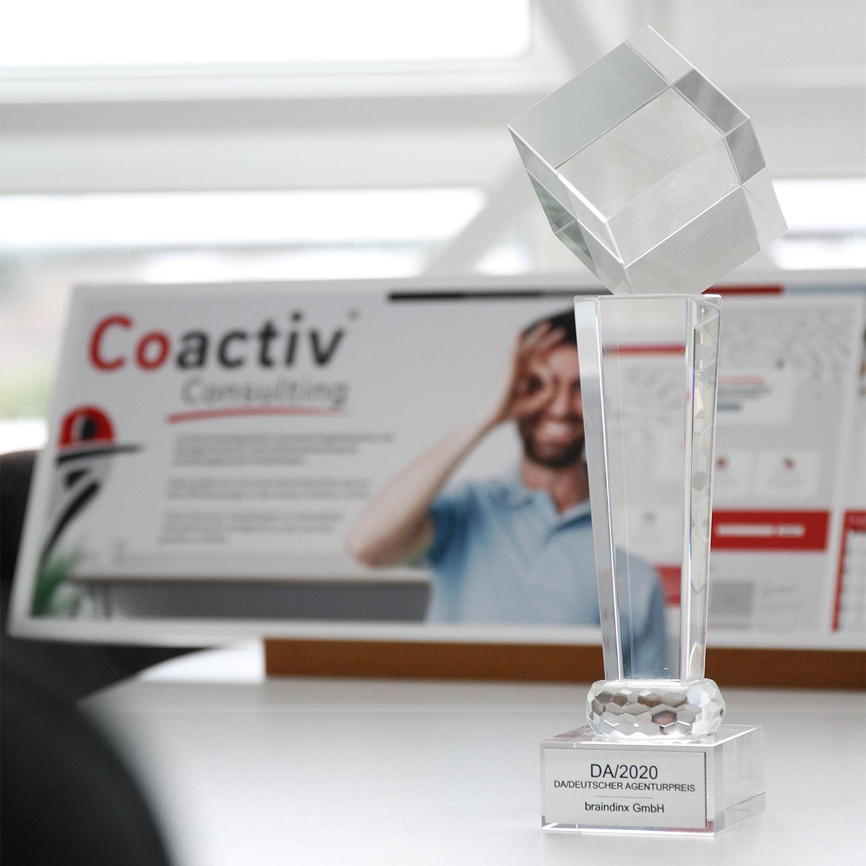 braindinx Gewinner Agentur des DA/ 2020