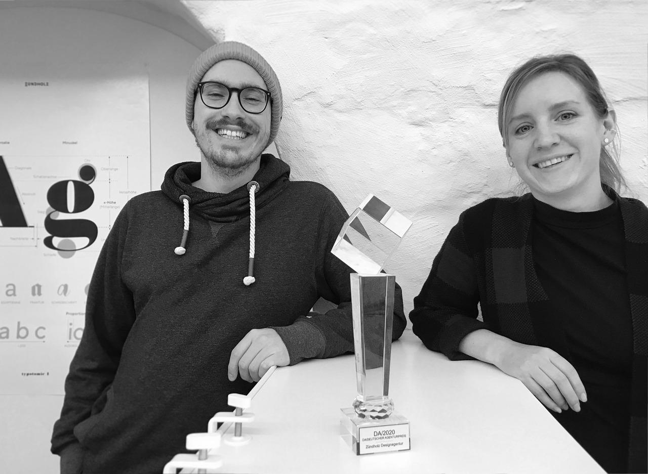 Zündholz Designagentur Gewinner Agentur des DA/ 2020