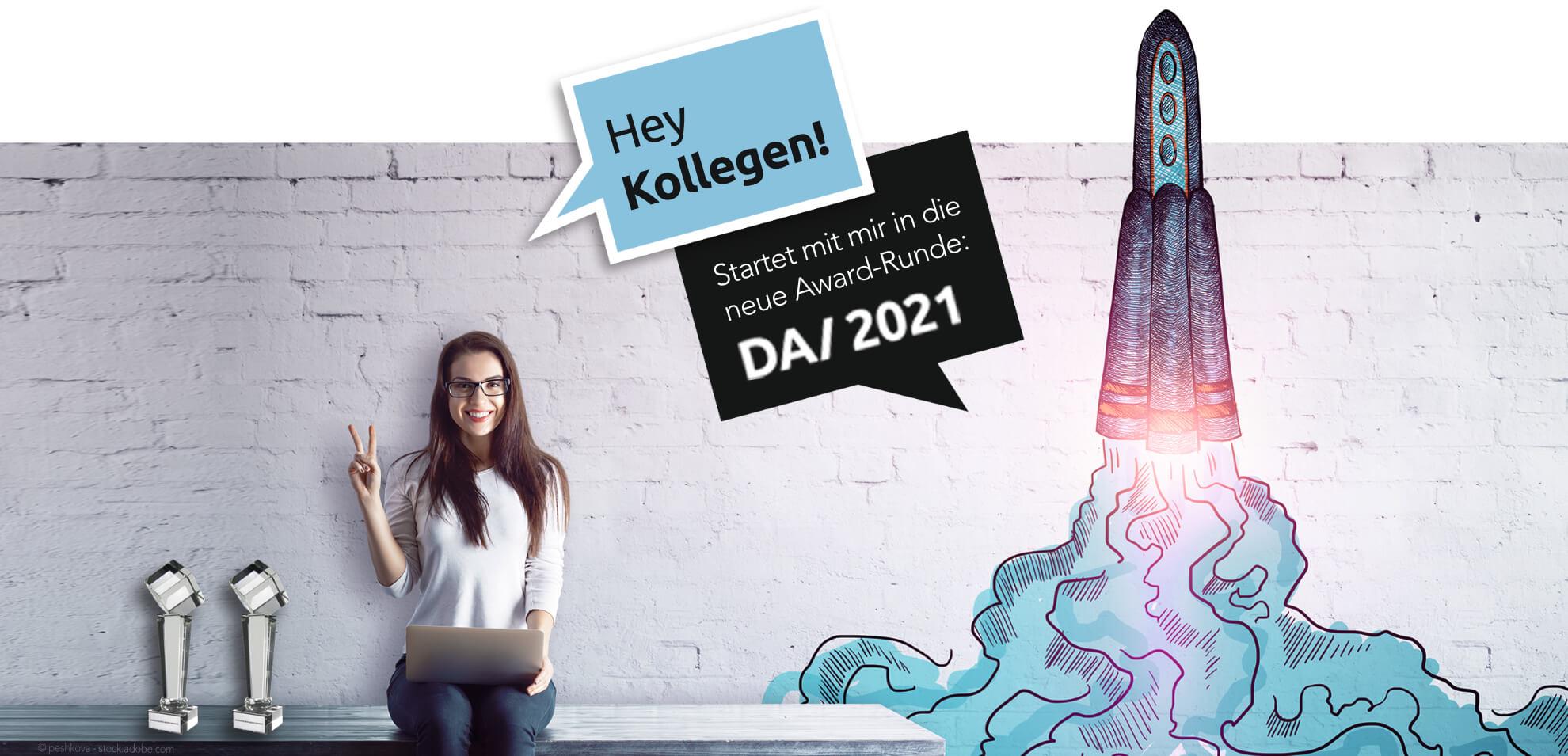 DA/ 2021 top Award für Werbeagenturen und Internet Agenturen